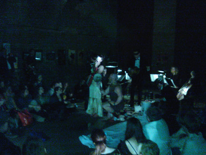 Amanda Palmer, Art Gallery Event, London 2012