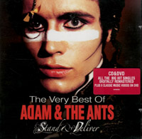Adam & the Ants - Stand & Deliver (the very best of) - CD & DVD (cd review)