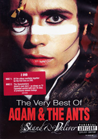 Adam & the Ants - Stand & Deliver (the very best of) - 2 DVD (music dvd review)
