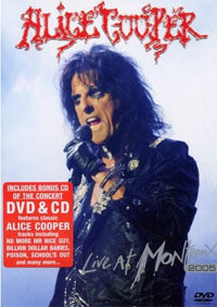 Alice Cooper - Live at Montreux 2005 (dvd/bluray review)
