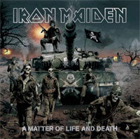 Iron Maiden - A Matter of Life and Death (cd review)