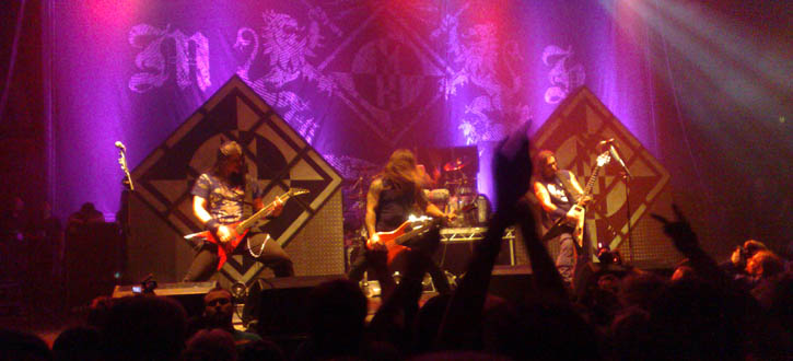 The Black Crusade  - KB-hallen - Denmark - 2007-12-10 - Live (concert review)