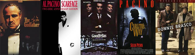 KP's Top 5 of Gangster Movies (movie review)