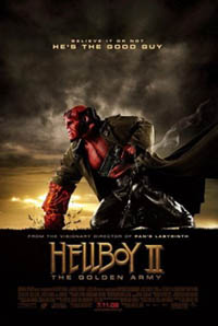 Hellboy 2 - The Golden Army (movie review)
