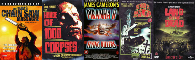 KP's Top 10 of Horror Movies (movie review)