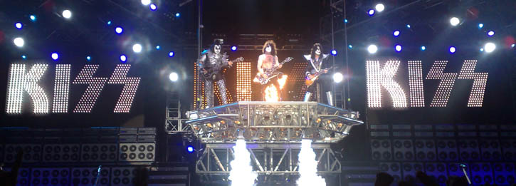 Kiss - Forum - Copenhagen - 2008-06-03 - Live (concert review)