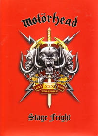 Motörhead - Stage Fright (music dvd review)