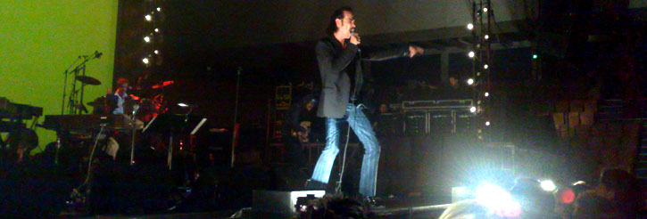 Nick Cave & The Bad Seeds - KB-hallen - Copenhagen, 2008-05-19 (concert review)