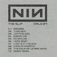 Nine Inch Nails - The Slip (cd review)