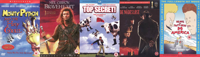 KP's Top 10 of Movies ´that didn't really fit in on any of my other Top x lists´ (movie review)
