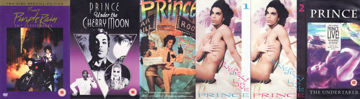 KP's Top 5 of Prince Movies (movie review)