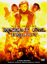 Resident Evil - Trilogy (movie review)