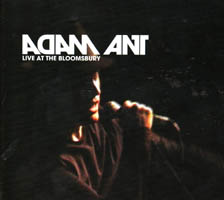 Adam Ant - Live at the Bloomsbury (cd review)
