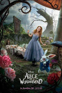 Alice In Wonderland (3D) [2010]  (movie review)