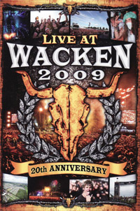 Live At Wacken 2009 (20th Anniversary) - 3 dvd (music dvd review)