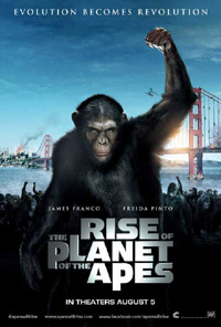 Rise of the Planet of the Apes (movie review)
