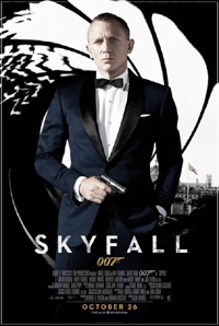 James Bond - Skyfall [2012]  (movie review)
