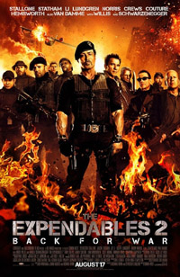The Expendables 2 [2012]  (movie review)