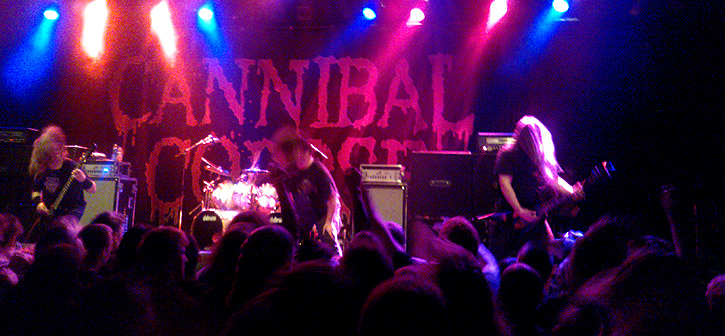 Cannibal Corpse + DevilDriver - Amager Bio, Live - 2013-02-15 (concert review)