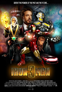 Iron Man 3 [2013]  (in 2D) (movie review)