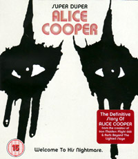 Alice Cooper - Super Duper (welcome to his nightmare) (dvd review)