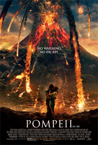 Pompeii (3D) [2014] (movie review)