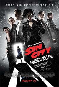 Sin City: A Dame to Kill For (3D) [2014] (movie review)