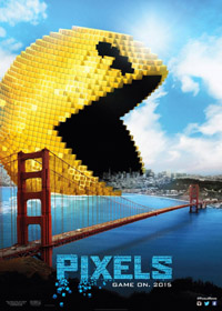 Pixels [2015] (movie review)