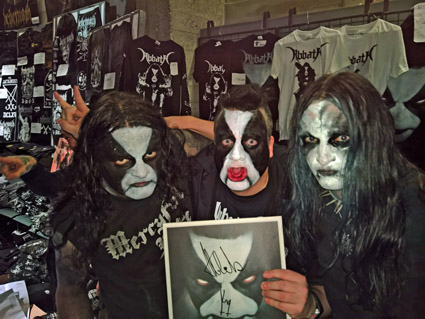 Abbath, KP, King, Metal-pandas