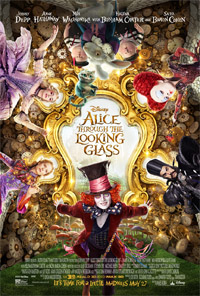 Alice Through the Looking Glass (3D) [2016] (movie review)