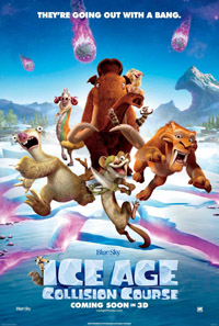 Ice Age: Collision Course (3D) [2016] (movie review)