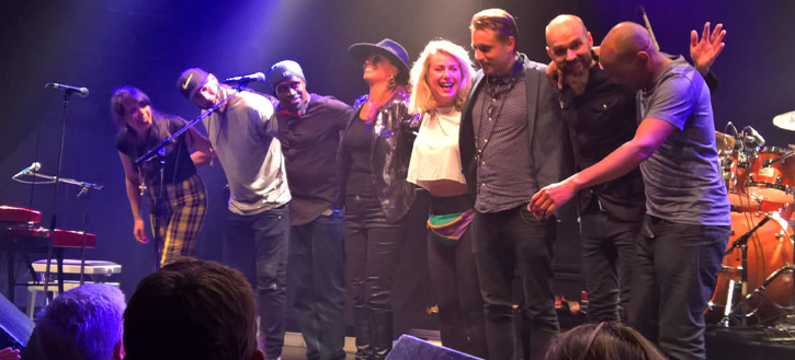 Ida Nielsen and Band @ Amager Bio - Copenhagen, Live, 2016-08-29 (concert review)