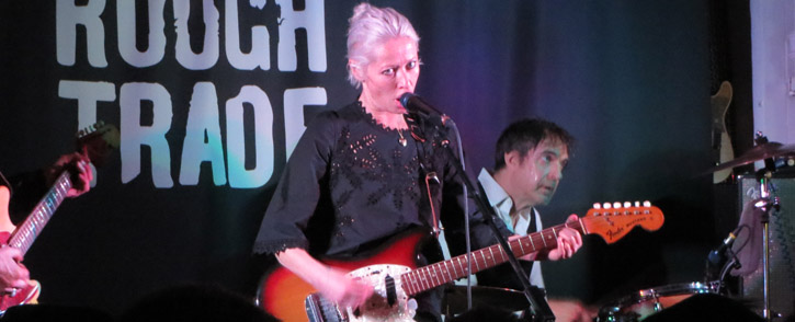Wendy James @ Rough Trade East / Old Blue Last - London, Live, 2016-02-15 (concert review)