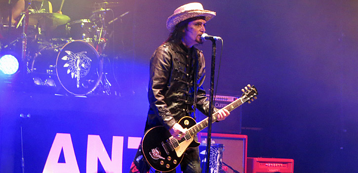Adam Ant - The Roundhouse, Camden, London - 2017-12-21 (concert review)