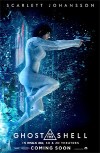 Ghost in the Shell (3D) [2017] (movie review)