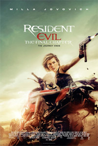 Resident Evil : The Final Chapter (3D) [2017] (movie review)