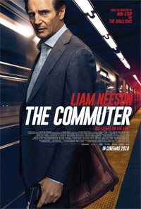 The Commuter [2018] (movie review)