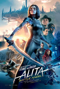 Alita: Battle Angel (2D) [2019] (movie review)