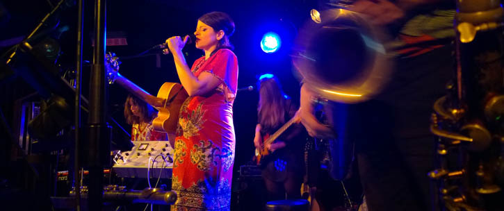 Gemma Ray - Musik & Frieden, Live, Berlin 2019-02-15 (concert review)