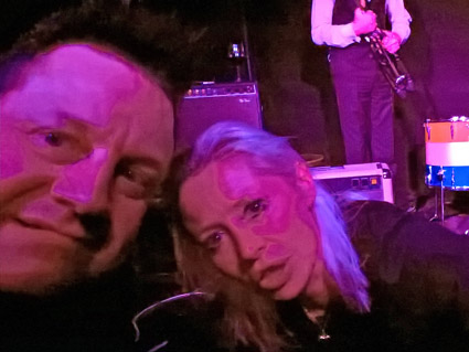 KP and Wendy James, London 2016