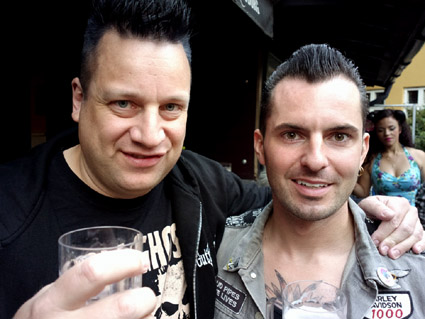 KP and Vic Victor (Koffin Kats), Copenhagen 2104