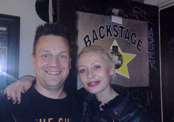 KP and Wendy James