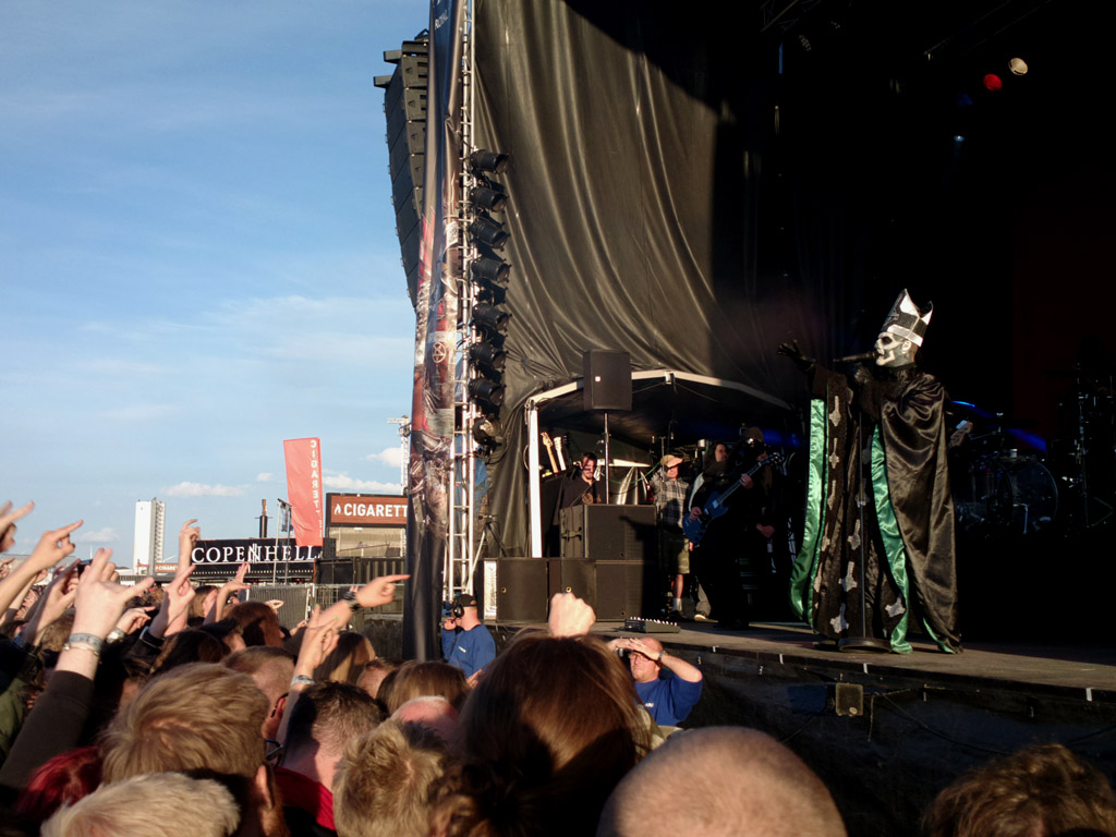 Ghost, Copenhell 2013