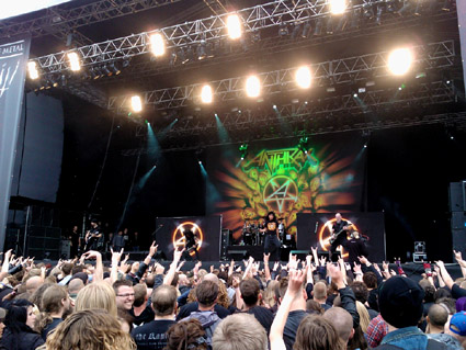 Anthrax, Copenhell 2012