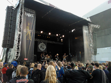 Brutal Truth, Copenhell 2012, Click for XL