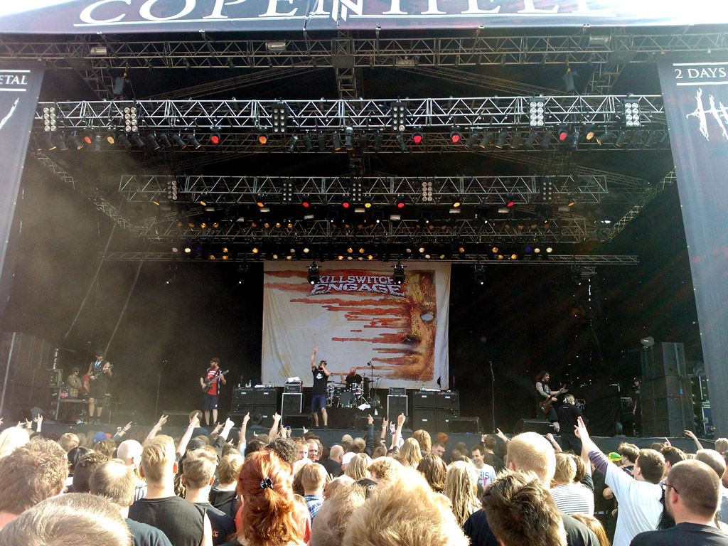 Killswitch Engange, Copenhell 2012