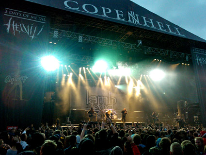 Lamb Of God, Copenhell 2012