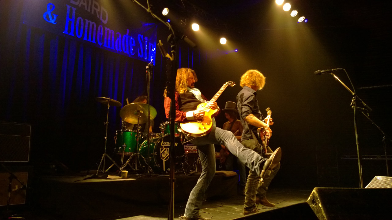 Dan Baird and Homemade Sin, Amager Bio, Copenhagen, 2014-11-10