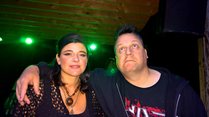Gemma Ray and KP, Byhaven, Pumpehuset, Copenhagen, Saturday 2016-08-13