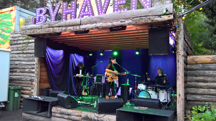 Gemma Ray, Byhaven, Pumpehuset, Copenhagen, Saturday 2016-08-13